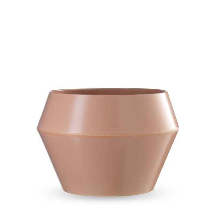 by Lassen - Cache-pot Rimm grand modèle, couleurs caramel