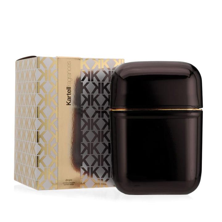 Bougie parfumée Oyster de Kartell en fumé avec la senteur Drops