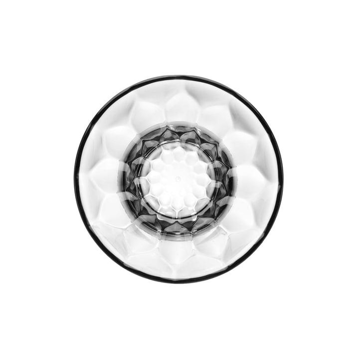Kartell - Jellies Coat Hanger Crochet de garde-robe, Ø 13 cm, transparent cristal