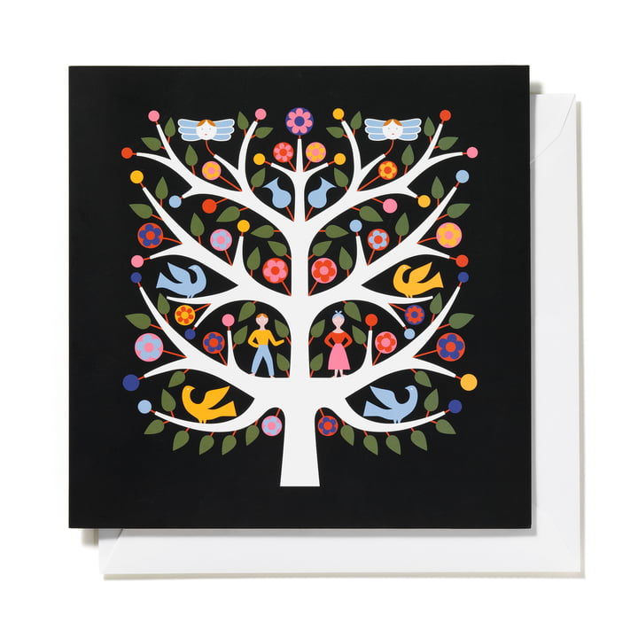 Carte de voeux Tree of Life par Vitra