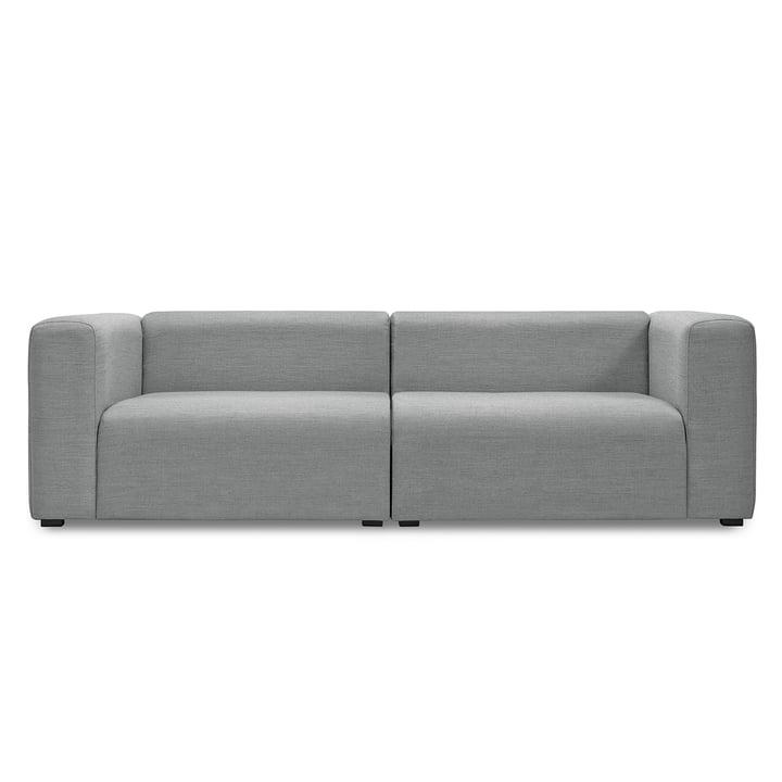 Hay - Mags Canapé sans Buttons, 2,5-places, Surface 120 gris clair