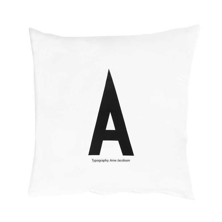 Housse de coussin A-Z de Design Letters