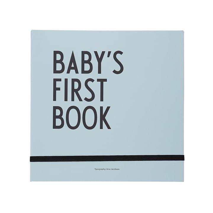 Livre Baby's First Book de Design Letters en turquoise