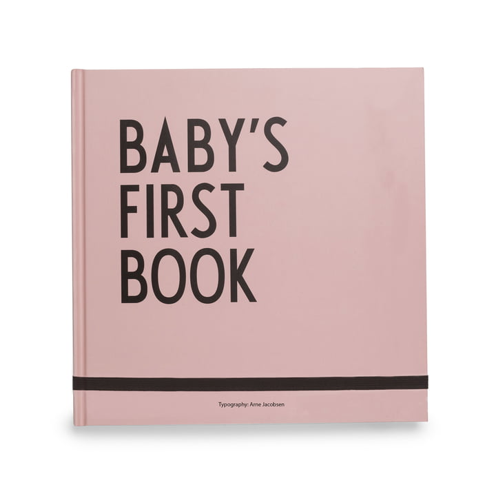 Livre Baby's First Book de Design Letters en rose