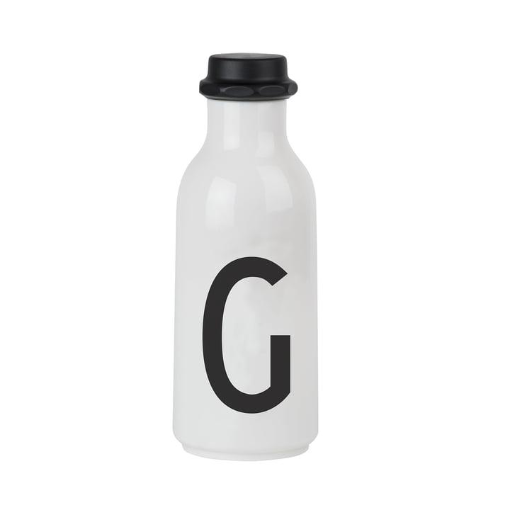 Design Letters - Bouteille d'eau de A-Z, G