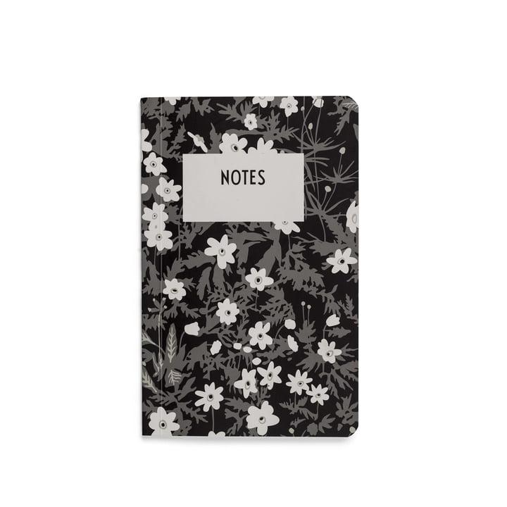 Carnet AJ Vintage Flowers en S de Design Letters