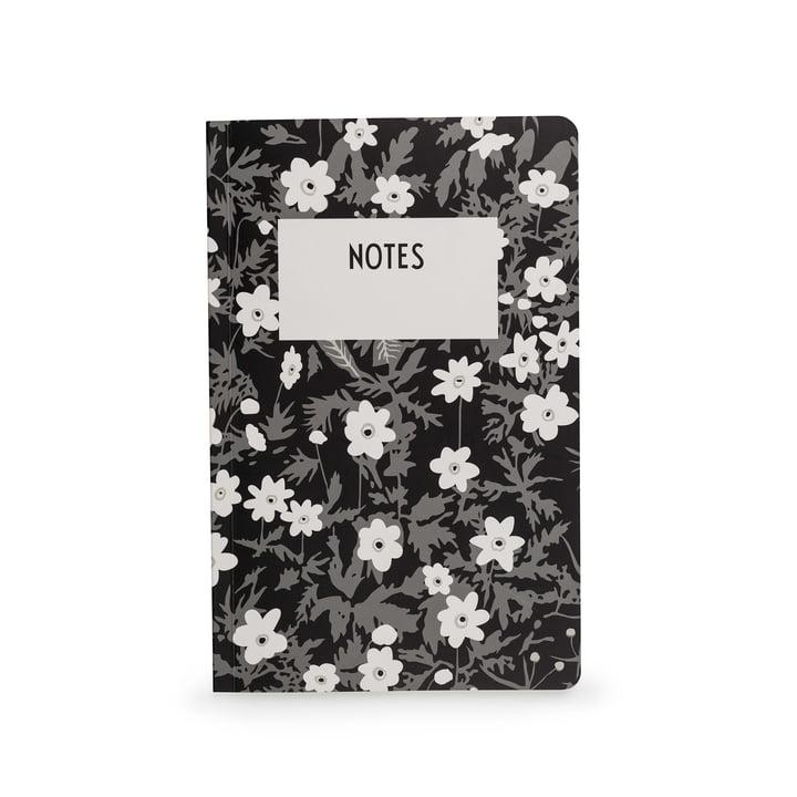 Carnet AJ Vintage Flowers en L de Design Letters