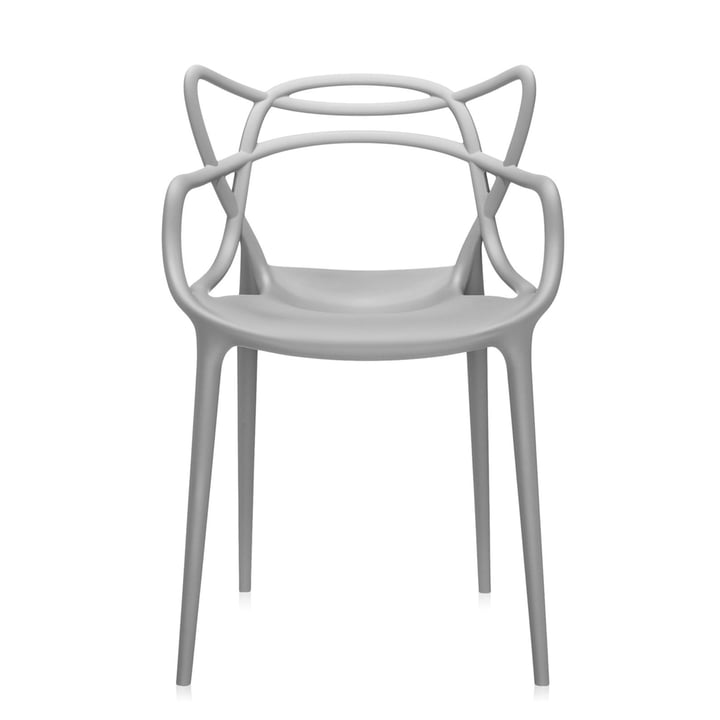 Kartell - Fauteuil Masters, gris