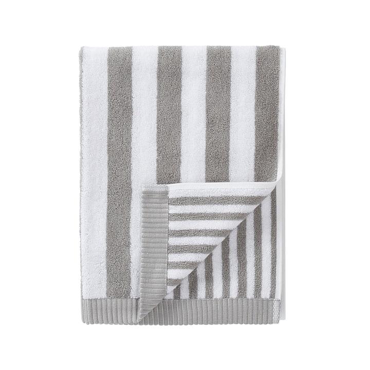 Marimekko - Kaksi Raitaa Serviette 50 x 100 cm, gris / blanc