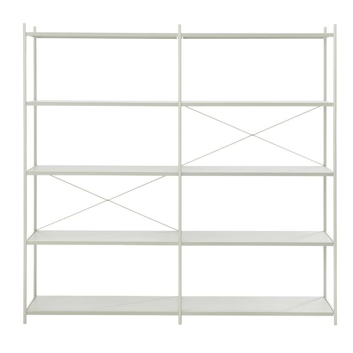 Système d'étagères Punctual 2x5 de ferm Living en gris