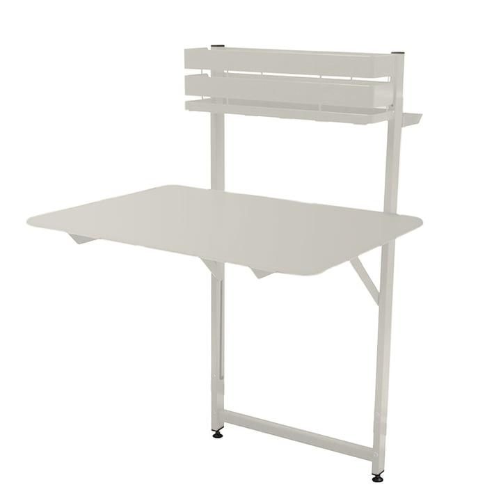 Fermob - Bistro Table de balcon, blanc coton