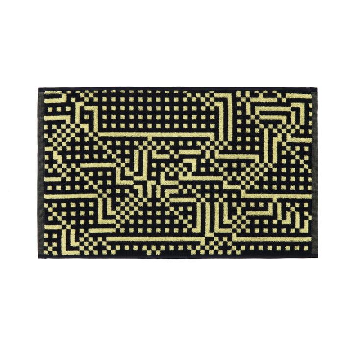 Serviette d'invités Route noire et jaune 33×50cm de Zuzunaga
