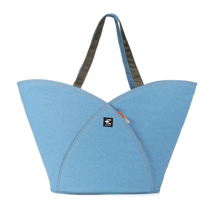 Le sac de plage Pua Kopu de Terra Nation en bleu