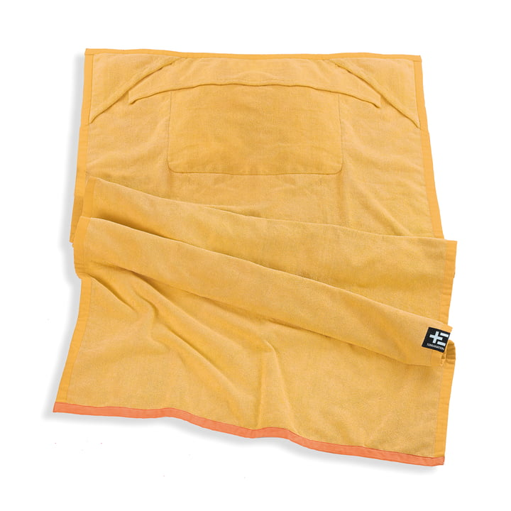 Drap de bain One Moe de Terra Nation en jaune