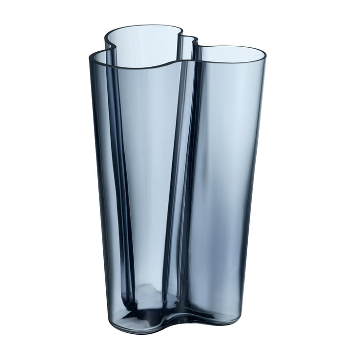 Iittala - Vase Aalto Finlandia, bleu pluie 251 mm