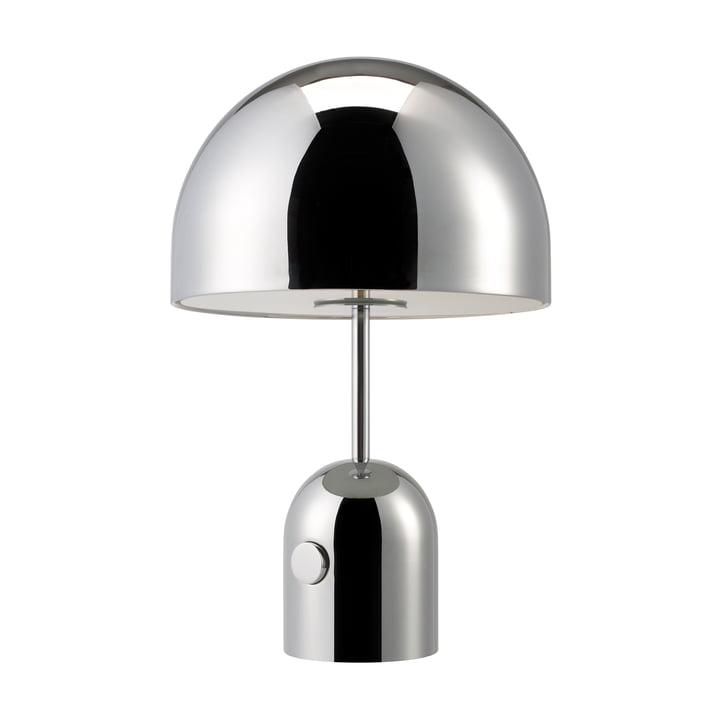 Tom Dixon - Lampe de table Bell, chrome, éteinte