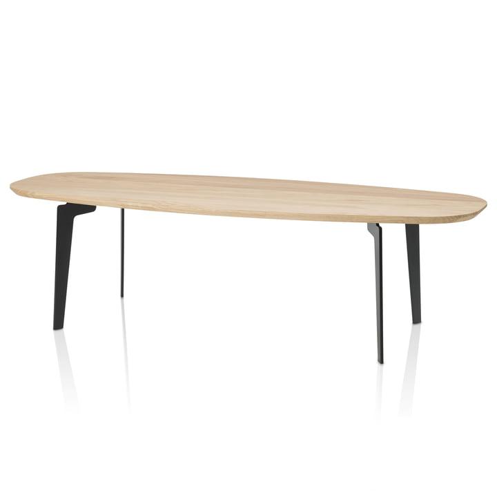 Join table basse FH 61 par Fritz Hansen en chêne naturel