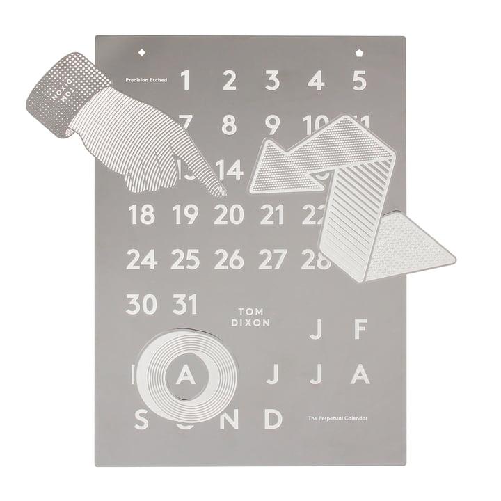 Calendrier Tool de Tom Dixon dans l'e-boutique
