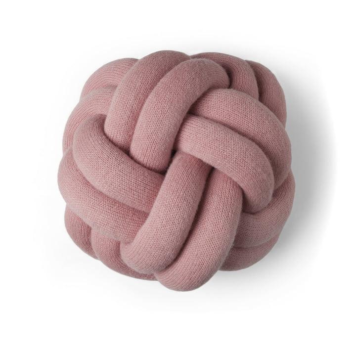 Coussin Knot de Design House Stockholm en pink
