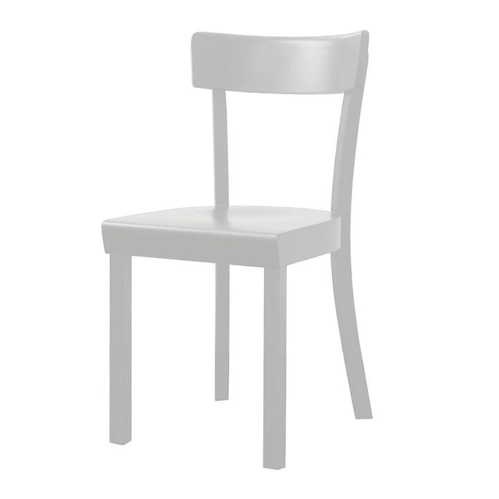 Stoelcker - La Chaise de Francfort, blanc teinté, laqué mat