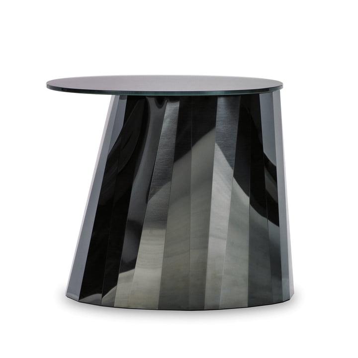 ClassiCon - Pli Side Table, onyx-noir brillant