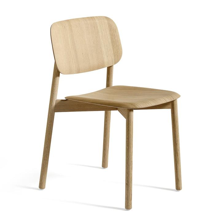 La chaise Soft Edge de Hay en chêne mat verni