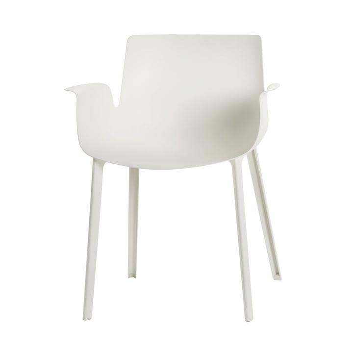 La chaise Piuma de Kartell en blanc