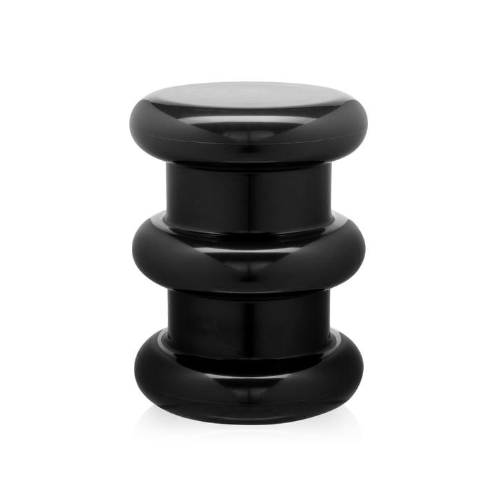 Tabouret/table d'appoint Pilastro par Kartell en noir