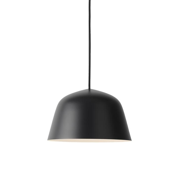 Ambit Suspension lumineuse Ø 25 cm en noir par Muuto