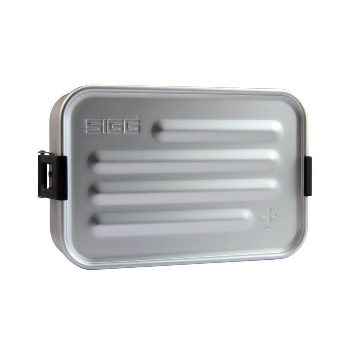 Boîte à pain en aluminium Boîte à pain Plus S de Sigg en aluminium