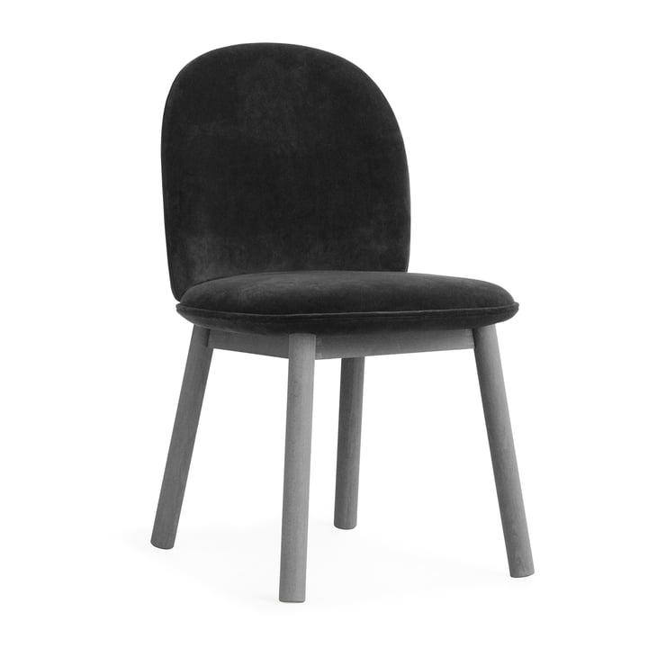 Chaise Ace Velour de Normann Copenhagen en gris