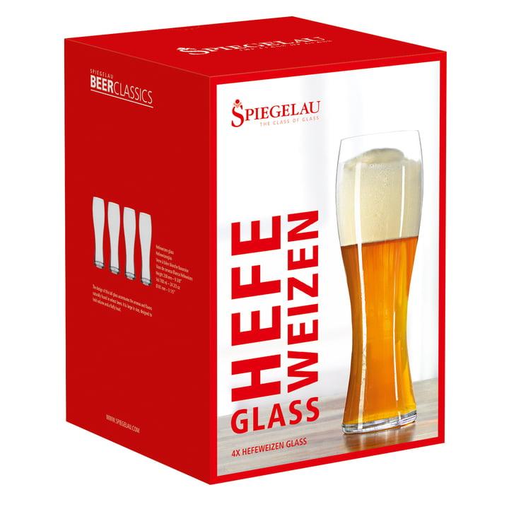 Verre à bière de froment (lot de 4) de Spiegelau