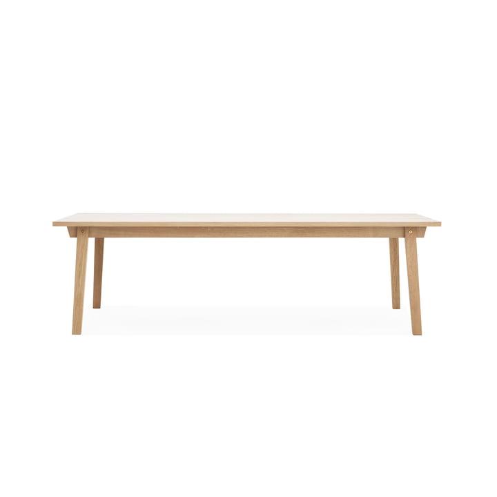 Table Slice Wood 90 x 250cm de Normann Copenhagen en chêne