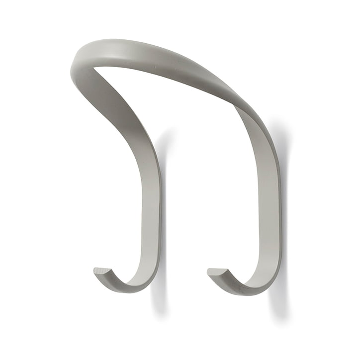 Hay - Patère Hook, gris clair