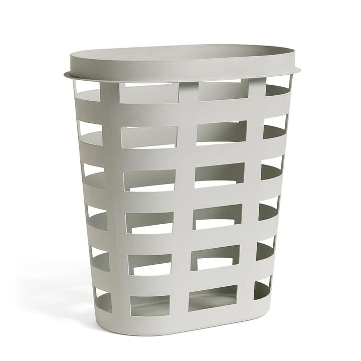 Hay - Le panier à linge en gris clair, L