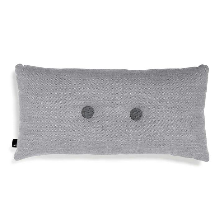 Hay - Coussin Dot 2x2 70x36cm, gris clair