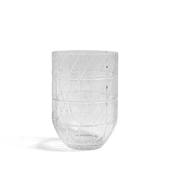 Le Hay - Colour Vase Vase en verre en L, transparent