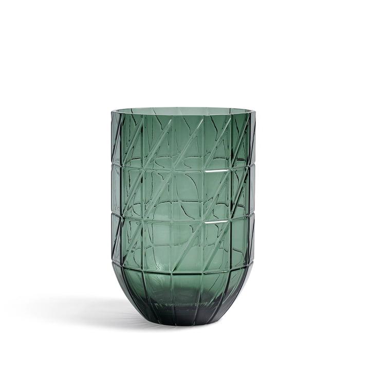 Le Hay - Colour Vase Vase en verre en L, vert