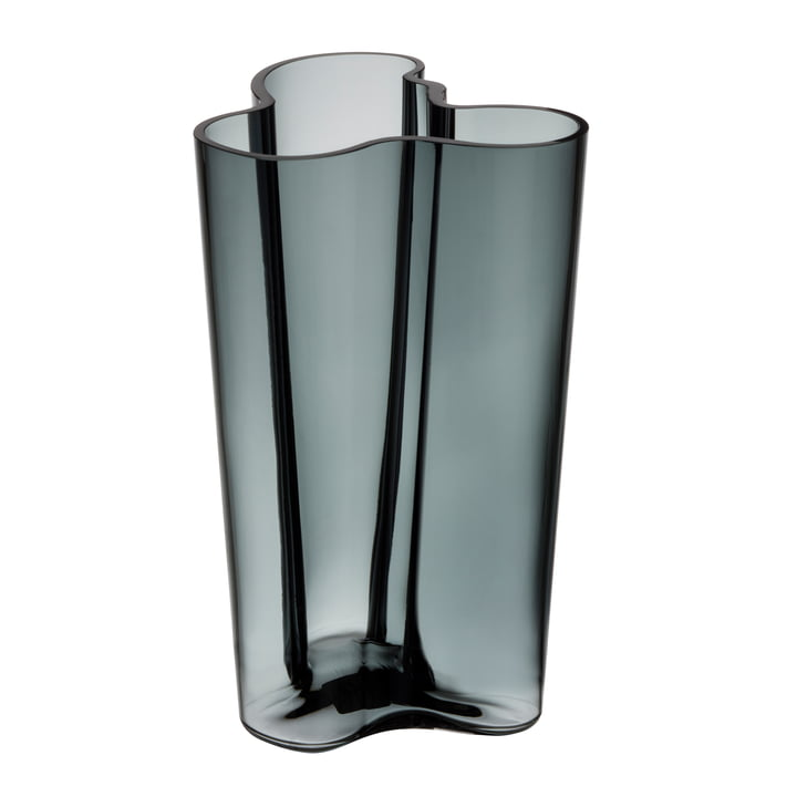 Iittala - Aalto vase Finlandia, gris foncé, 251 mm