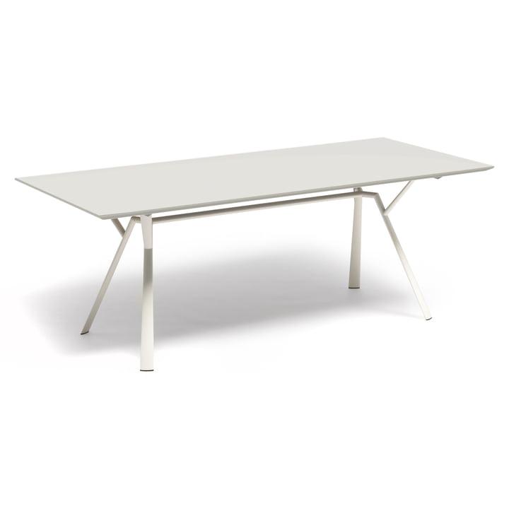Fast - Table de salle à manger Radice Quadra 200x90cm, blanc