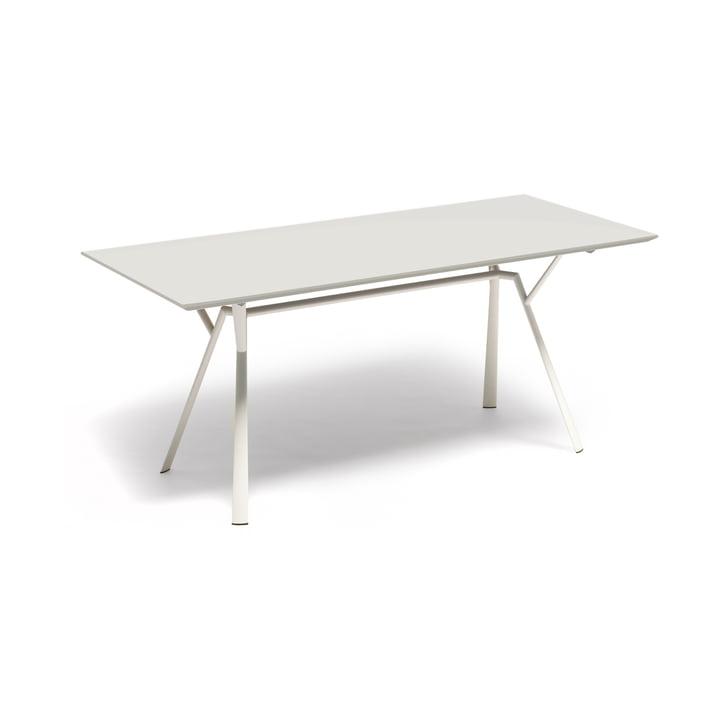 Fast - Table de salle à manger Radice Quadra 150x90cm, blanc