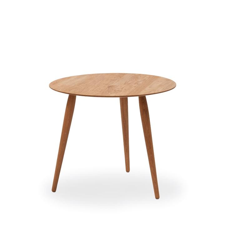 Table d'appoint Play Round Wood Ø 45cm de bruunmunch en chêne naturel
