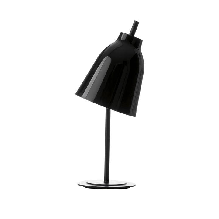 Lampe de table Caravaggio de Lightyears en noir brillant
