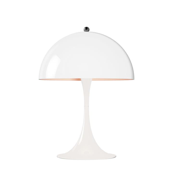 Lampe de table Panthella Mini Ø 250 de Louis Poulsen en blanc