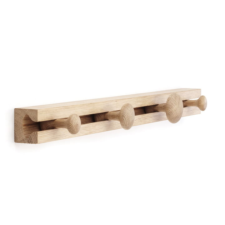 applicata - Portemanteau Track Coat Rack S, chêne