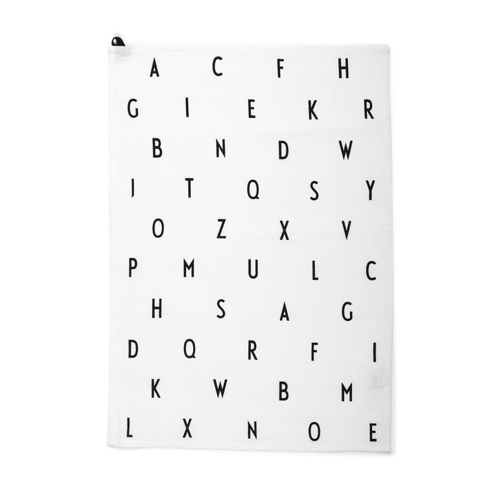 Das Design Letters - Linge de vaisselle, Vintage ABC