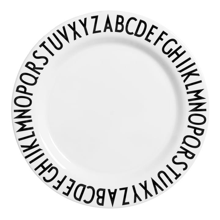 AJ Grande assiette mélamine Ø 24 cm par Design Letters