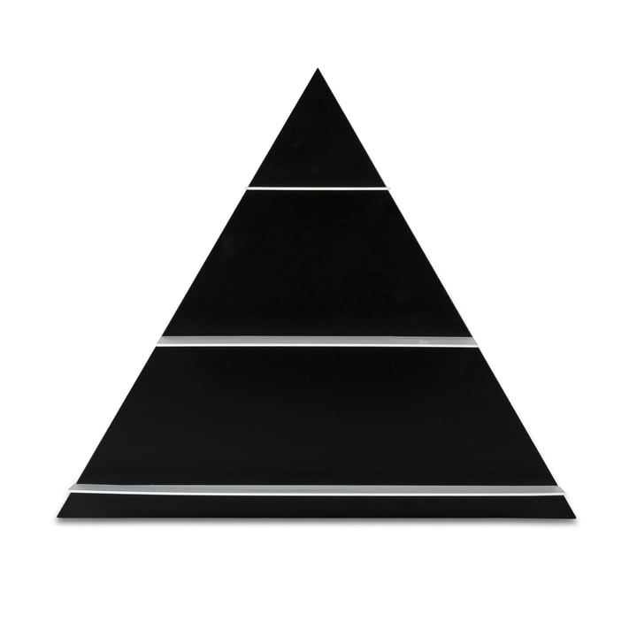 Design Letters - Étagère Triangle Paper, black