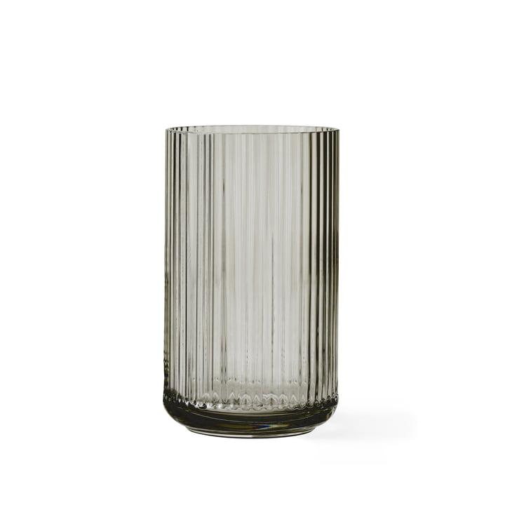 Lyngby Porcelæn - Vase en verre, transparent, H15cm