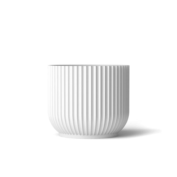 Pot de fleurs S de Lyngby Porcelænen blanc